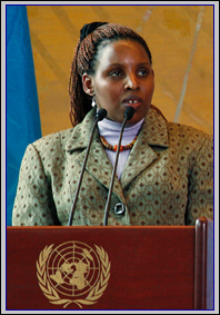 Eugenie Mukeshimana Inspirational Speaker
